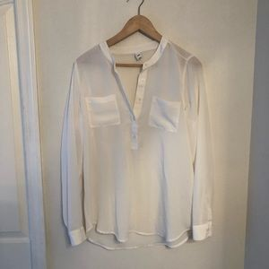 White old navy blouse